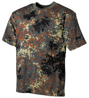 Футболка, Flecktarn, 100% cotton  - Max-Fuchs