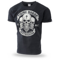 "Футболка ""VIKING HORDE II"" - black  (TS-213) DOBERMANS AGGRESSIVE"