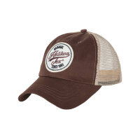 Бейсболка TRUCKER LOGO CAP, цвет Mud Brown (CZ-TLC-CT-6020A)  - Helikon-Tex