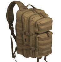 "Рюкзак однолямочный ""One Strap Assault Pack LG"" (Coyote)  -    Mil-Tec"