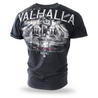"Футболка ""VALHALLA"" - black  (TS-204) DOBERMANS AGGRESSIVE"