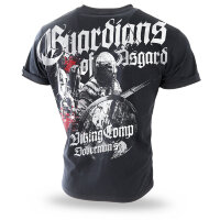 "Футболка ""GUARDIANS OF ASGARD"" - black  (TS-197) DOBERMANS AGGRESSIVE"