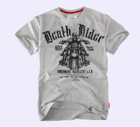 "Футболка ""Death Rider"" - grey  (TS-57)"