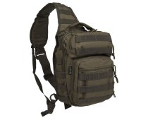 "Рюкзак однолямочный ""ONE  STRAP  ASSAULT  PACK SM"" (Olive)  -    Mil-Tec"
