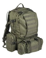 Рюкзак тактический   DEFENSE PACK ASSEMBLY   - Olive, 36 L  -    Mil-Tec