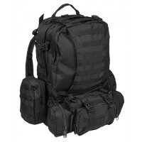 Рюкзак тактический   DEFENSE PACK ASSEMBLY   - Black, 36 L  -    Mil-Tec