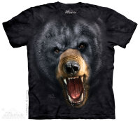 "Футболка ""Aggressive Nature: Black Bear""  -  The Mountain"