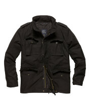 Куртка  Capper parka,  (M-65)  Black  - Vintage Industries