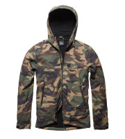 Куртка  Alford softshell jacket  - woodland camo - Vintage Industries