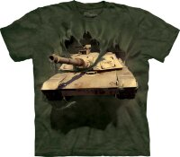 "Футболка ""M1 Abrams Tank Breakthru""  -  The Mountain"