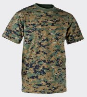 Футболка армейская Helikon-Tex - Classic Army T-Shirt - USMC Digital Woodland