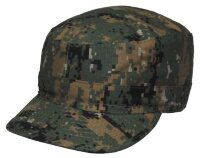 Кепка US, BDU Digital Woodland, Rip-Stop, 100% cotton