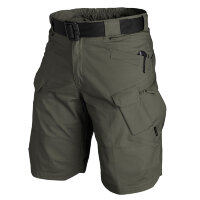 "Шорты (URBAN TACTICAL SHORTS®) 11"" - POLYCOTTON  RIPSTOP - Taiga Green   Helikon-Tex"