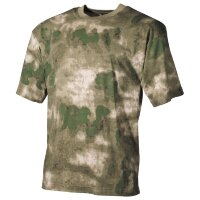 Футболка, HDT - Camo Green, 100% cotton  - Max-Fuchs
