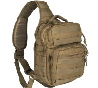 "Рюкзак однолямочный ""ONE STRAP ASSAULT PACK SM"" (Coyote)  -    Mil-Tec"