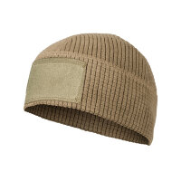 Шапка флисовая  RANGE BEANIE CAP - GRID FLEECE, - (Coyote)  Helikon-Tex